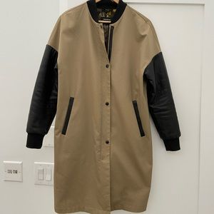 Mackage long bomber jacket (Rare!)